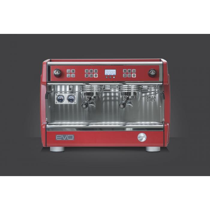 Dalla Corte EVO2 2li Grup Kırmızı Espresso Kahve Makinesi