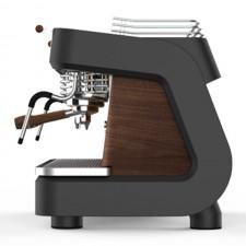 Dalla Corte XT 2'li Grup Koyu Siyah ve Ceviz Espresso Kahve Makinesi